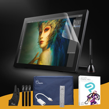 "Parblo Coast22 21.5"" IPS Graphic Monitor For Art Drawing + CLIP STUDIO PAINT PRO (Manga Studio) +Mini DisplayPort to HDMI Cable(China)"