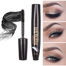 Black Mascara Volume Curling Eyelash Extension Grower Long Fiber Makeup Cosmetic Mascara Liquid by MiXiu(China)