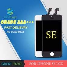 GREAT PARTS 10PCS 100% Best Quality Mobile Phone Display For iPhone SE LCD Touch Screen Digitizer Assembly No Dead Pixel(China)