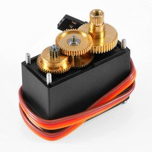 Buy Hot Servo 995 Metal Gear High Speed Torque Digital Servo Motor MG995 Servos HPI XL Helicopter Car Boat Free for $6.56 in AliExpress store