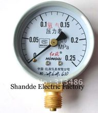 Dial diameter: 60mm 0-0.25Mpa Oxygen Pressure Gauges(China)