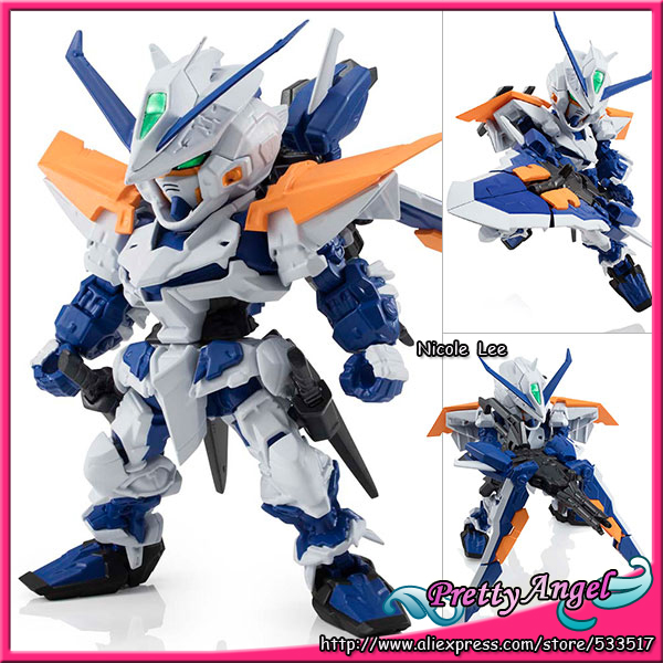 Original Bandai NXEDGE STYLE [MS UNIT] Mobile Suit Gundam SEED Astray Action Figure - Gundam Astray Blue Frame Second L<br>