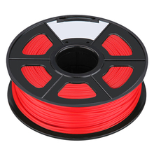 Filament 3D Printing Materials Spool of 3D Filament ABS 1Kg With NO Air Bubbles for RepRap MakerBot Ultimaker etc (3.00mm, Red)(China)