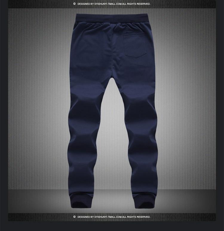 17 New Fashion Tracksuit Bottoms Mens Pants Cotton Sweatpants Mens Joggers Striped Pants Gyms Clothing Plus Size 5XL 8