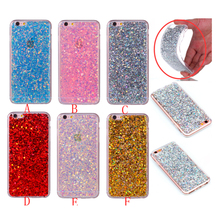 Buy Fashion glitter Bling Cover iphone 6 Case girl Cute Candy Colorful Shining iphone 6s coque etui kryty capa funda tok for $4.19 in AliExpress store