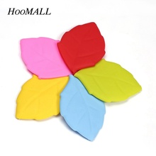 Hoomall Candy Color Leaf Shaped Silicone Travel Water Bottle Out Door Collapsible Drinkware Wash Supplies(China)