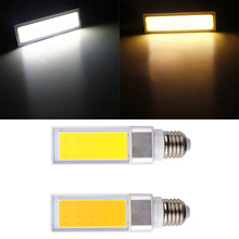 4pcs/lot Premium COB Horizontal Plug Light E27 G24 base LED Corn Lamp Bulb Bombillas Hot Spotlight  AC 85-265V 10w 12w 15w