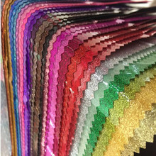 92 x 95cm Clear Glitter PVC Vinyl Fabrics Iridescent Magic Mirror Reflective Starry sky Changing Rainbow Metal Plastic Film(China)