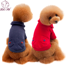 Pet dog clothes for small medium dogs jackets coats pet clothes dogs clothes winter cotton pet clothing costume with pocket(China)