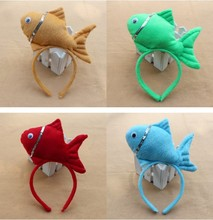 Free shipping,children adult red blue yellow green Finding Nemo dory fish animal series headband