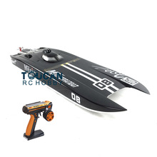 E32 RTR Germany Cat Fiber Glass Electric Racing Speed RC Boat W/120A ESC/3200KV Brushless Motor/Radio System-Black