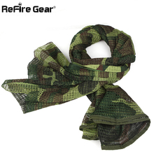 Arab Military Tactical Mesh Scarf Men US Army Soldier Combat Camouflage Scarves Women Conceal Camo Shawl Veil Head Scarf 190cm