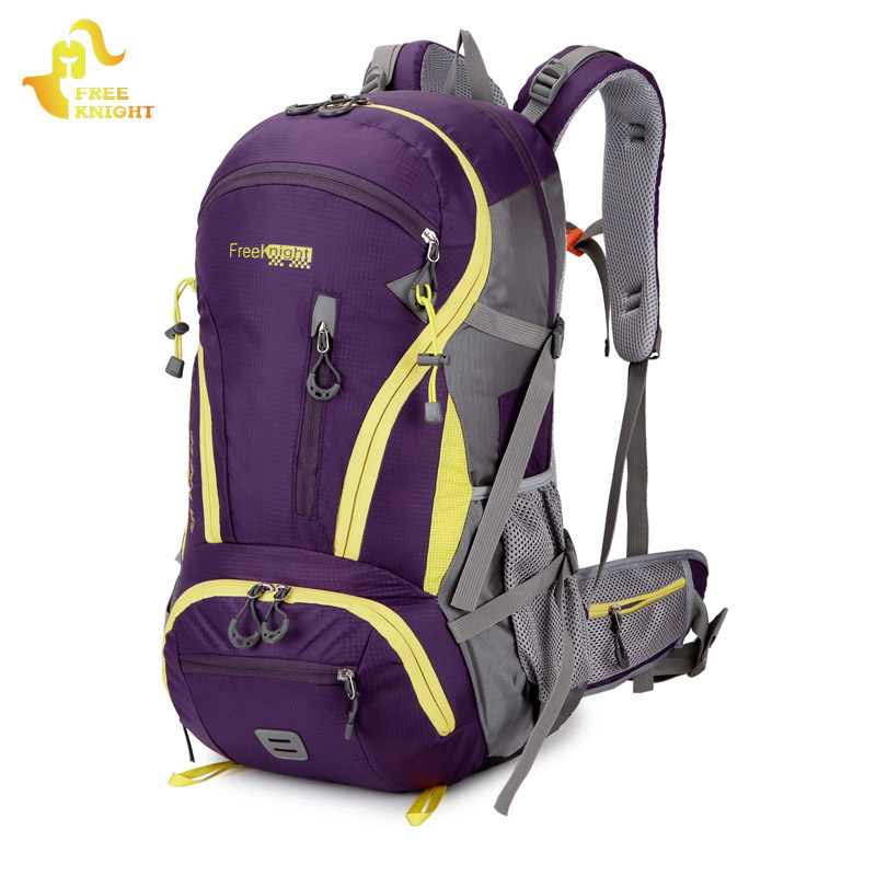 FREEKNIGHT 45L Sports Bag Hiking Backpacks Waterproof Molle Bag Outdoor Climbing Rucksack Mountaineering Bags Camping Backpack <br>