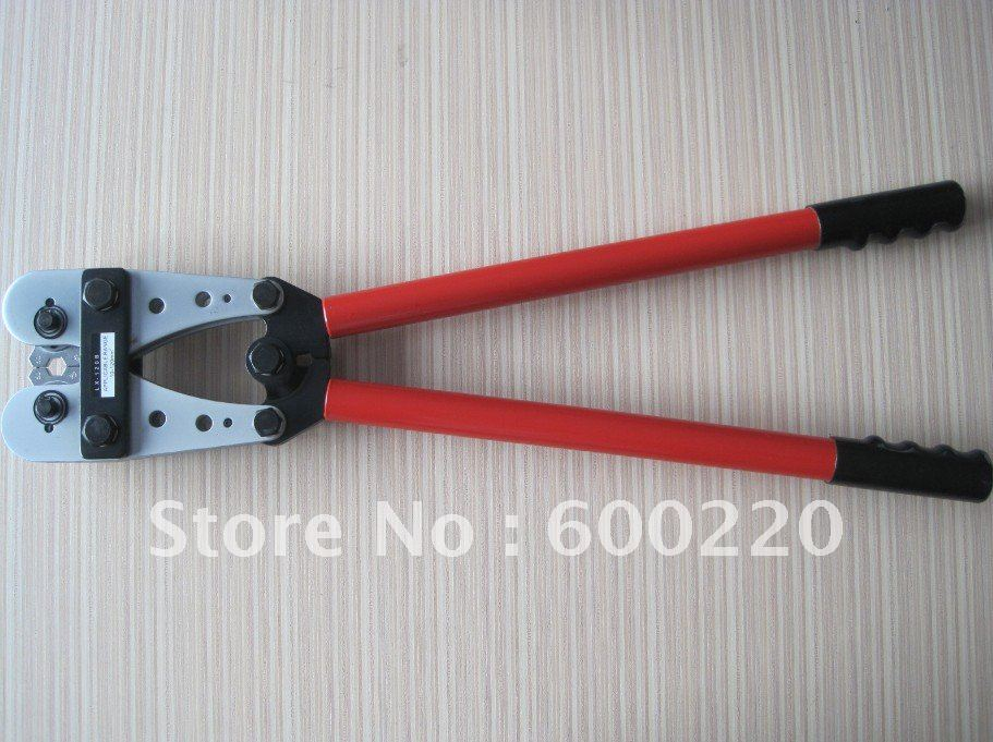 LX-120B Hand Crimping Tools Modular Crimping Tool 10-120mm2 install copper lugs,c taps alumiun lugs crimping tool<br>