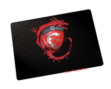 MSI mouse pad custom pad to mouse notbook computer mousepad hot sales gaming padmouse gamer to laptop keyboard mouse mats