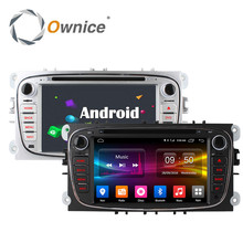 4G LTE Octa Core Android 6.0 2GB RAM Car DVD GPS Radio Player For Ford Mondeo Focus C S MAX 2007 2008 2009 2010 2011 Kuga Galaxy