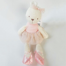 Cute 42cm Large Soft Rabbit Stuffed Animal Bunny Toy Baby Girl Kid Pets 2016 New Arrive Fashion For Baby(China)