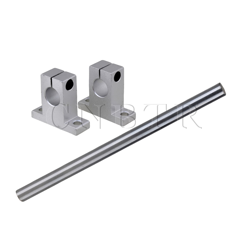 CNBTR OD12 x 200mm Shaft Optical Axis &amp; Aluminum Ball Slide Units Rail Support<br><br>Aliexpress