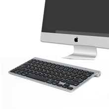MAORONG TRADING Ultrathin Bluetooth wireless keyboard For iMac 21.5 27 inch keyboard for mac os system keyboard for imac aio