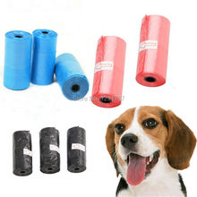 75pcs=5 Rolls(15pcs/roll), Dog Biodegradable Waste Pooper Scoopers Bags on Board,cat Dog trash bags, dog poop bag for dog toilet
