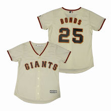 MLB Ladies San Francisco Giants Barry Bonds Home Replica Cool Base Jersey(China)