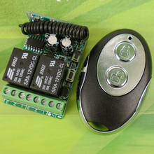 hot selling DC12V 2CH RF wireless remote control motor for roller shutter wireless remote control switch light(China)