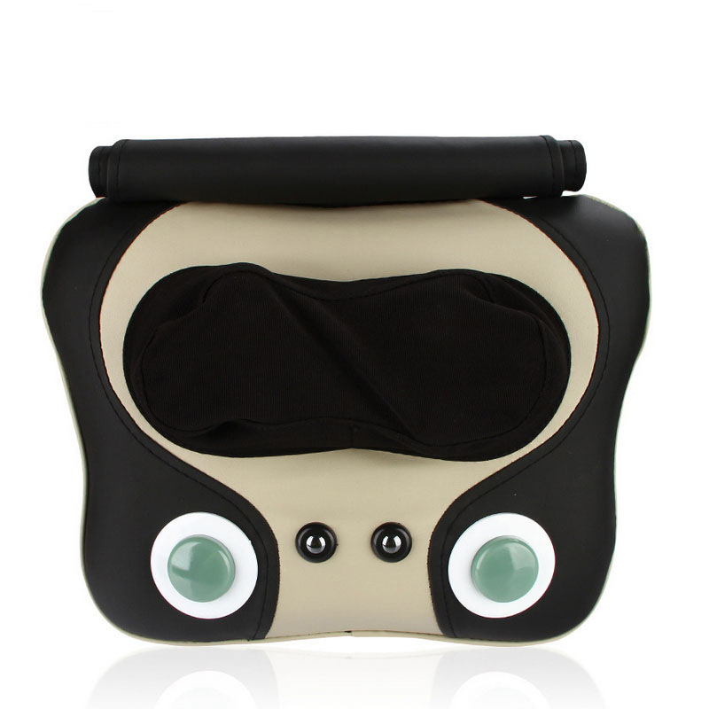 Free Shipping Neck massager Beat Kneading Shiatsu Cervical Massage Pillow Neck Shoulder Hip Waist Multifunction Massager<br>