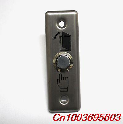 YOCOMYLY (TM) 20pcs NEW Door Exit Control alloy 9cm x3cm panel &amp;16mm Momentary Push Button Switch<br><br>Aliexpress