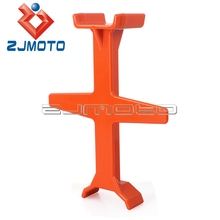 New 29.4cm Dirtbike Fork Support Tie Down Seal Saver Motorcycle Fork Support Transportation Protection Orange