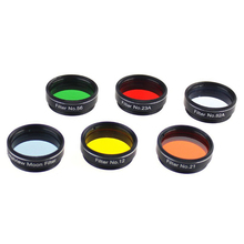 "1.25"" Astro Filters for Astronomical Telescopes Ocular Lens Planets Nebula Filter SkyGlow 6 Models"