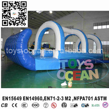2017 New design cheap inflatable slip and slide for backyard party rental(China)