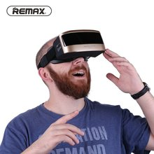 Remax RT-V03 All In One Virtual Reality Glass Headset Anti Blue Ray 3D HD VR Glass for Android 5.5 Inch Smart Phones(China)