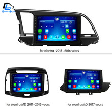 3G/4G+WIFI net dvd android 6.0 system stereo For hyundai elantra MD 2011-2017 2015 2016 years car gps multimedia player radio