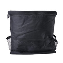 Black Car Ice Storage Bag Car Seats Bags Oxford Hanging Convenience Storage Bags Container Cases Fashion High Quality