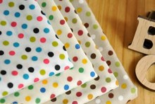 YY DIY 4pcs multi color Polka Dot LOVELY Cotton Patchwork fabric home Textiles Cotton Poplin for sewing 100% cotton fabric