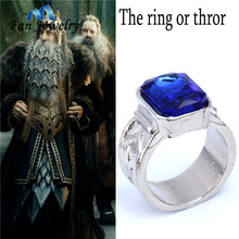 The power of thror Dwarf Seven Hobbit Ring Movies Jewelry 021JZ(China)