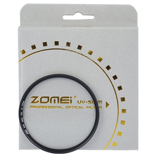 ZOMEI Ultra Slim AGC Optical Glass UV Ultra Violet Lens Filter-37/40.5/49/52/55/58/62/67/72/77/82mm for Canon Nikon Camera Lens(China)