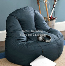 Cover only No Filler-Living room bean bag sofa chair, home seat furniture set, waterproof outdoor beanbag sofas