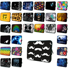 "Many Designs Women Mens Portable 17 15 14 13 12 11.6 10 10.1 7 7.9"" Inch Laptop Notebook Computer PC Sleeve Bag Neoprene Cases(China)"