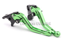 Motocycle Accessories For KAWASAKI ZZR 600 05-08 Short Brake Clutch Levers Green