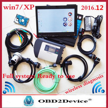 Wind7 MB Star C4 SD Connect V2017.03 wifi Mb Star Diagnosis DAS Xentry System Compact 4 Multiplexer For mb star Diagnostic Tool