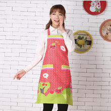 2016 New Convenient Women's Waterproof Housewife Kitchen Waist Aprons Home Kitchen Apron 6zcx453-3