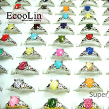 300Pcs Hot!eBay Sale Whole Rhinestone Silver Plated Rings for Women Jewelry Bulk Lots Free Shipping RL006