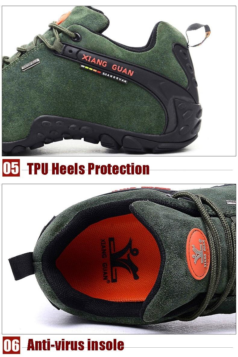 XIANG GUAN Winter Shoe Mens Sport Running Shoes Warm Outdoor Women Sneakers High Quality Zapatillas Waterproof Shoe81285 31