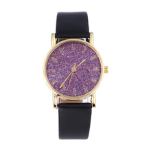 New Women Phosphors Face Quartz Watch Fashion Candy Color Leather Band Student Watch bayan saat