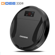 DIQEE330C Smart Robot Vacuum Cleaner for Home wireless Sweeping Dust Gyro navigation Planned Clean Phone App control(China)