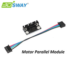 3DSWAY 3D Printer Parts Motor Parallel Module for Double Z Axis Dual Z Motors for Lerdge 3D Printer Board(China)