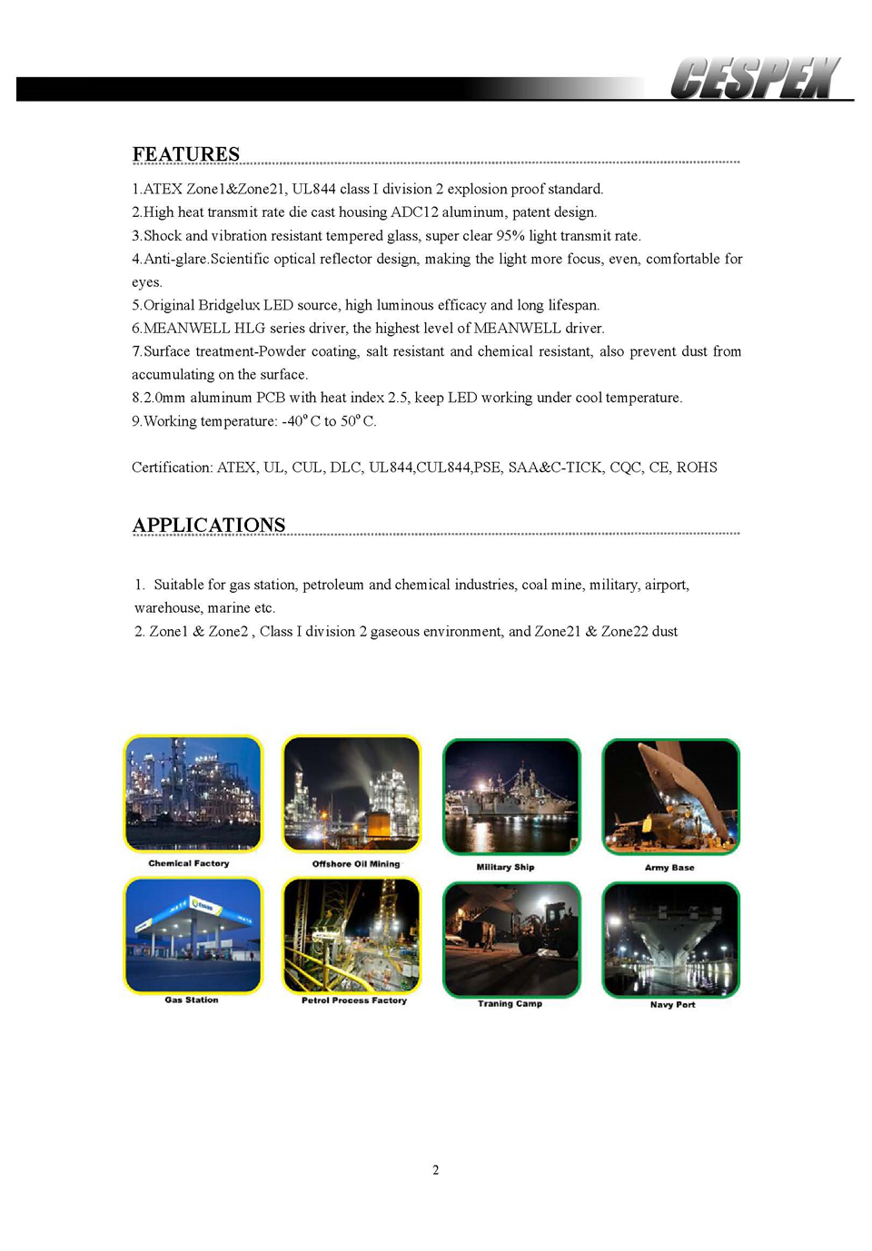 Datasheet of ATEX UL LED explosion proof lights__2