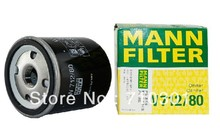 Hot sales, free shipping fee MANN oil filter W712/80  for SAAB 95 93 9000