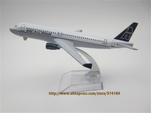 16cm Metal Airplane Model Air MEXICANA Airlines A320 Airbus 320 Aircraft Airways Plane Model W Stand  Gift